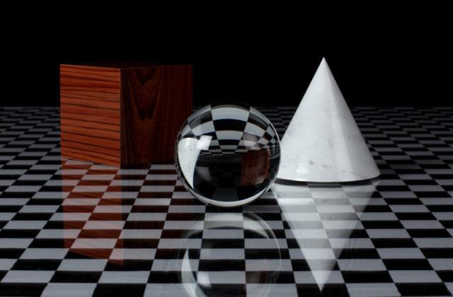 Foto, das an ein 3D-gerendertes Objekt erinnert