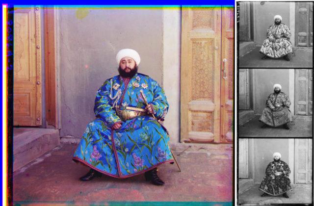 Rgb-compose-Alim Khan - Sergey Prokudin-Gorsky